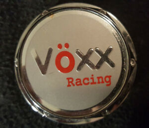"VOXX RACING Center Cap off 17"" rim. Mint shape. Like new. $10"