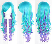 Blue Green Cosplay Wig