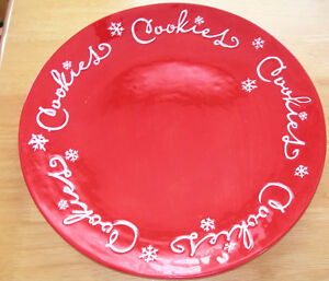 HALLMARK CHRISTMAS COOKIE PLATTER