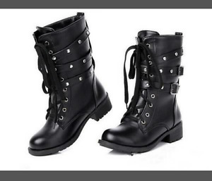 Ladies brand new motorcycle boots
