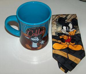 Disney Mickey Mouse Mug and Silk Tie Combo London Ontario image 1