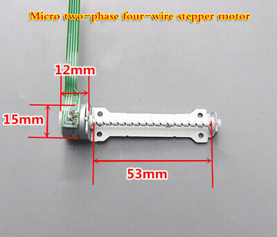 Micro Two-phase Four-wire Stepper Motor 15mm With Long Screw Rod Diy Creation