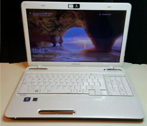 Toshiba Laptop with SSD, loaded with Win10 and Office