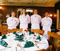 STEWARDESS POSITIONS on St. Lawrence River Cruise Ship
