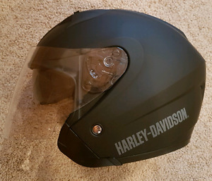 Harley Davidson Helmet with 3/4 Shield and Sunscreen