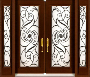 glass inserts and doors