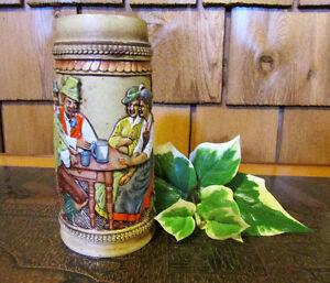 Vintage Chalkware German Steins – Only $18 for Set of Three Kitchener / Waterloo Kitchener Area image 3