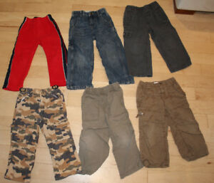 13 piece fall winter clothing lot, size 3T, $ 15 for everything