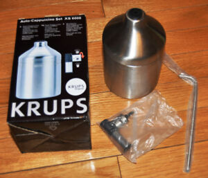 KRUPS XS 6000 Auto Cappuccino Milk Frothing System BNIB