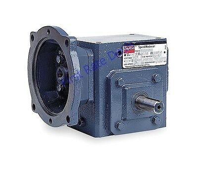 Dayton 4rp44 Speed Reducer 56c 401 Ratio C Face 1750 44 Rpm Double Output Angle