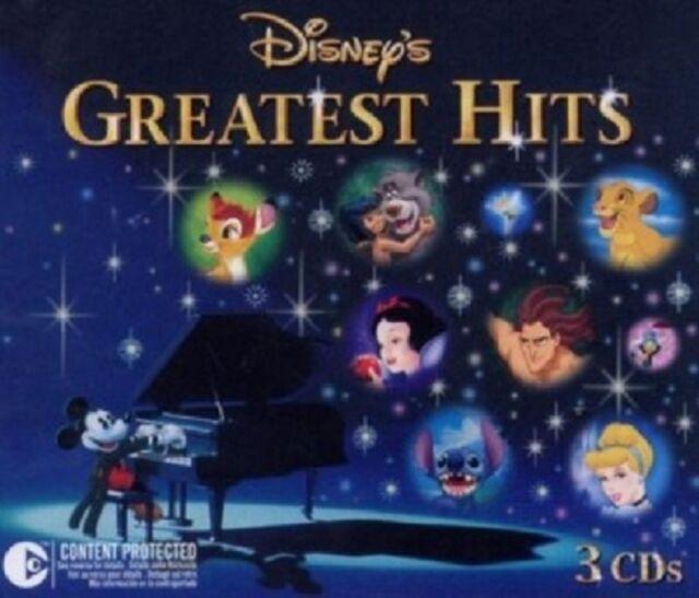 DISNEY\'S GREATEST HITS  (3 CD)  60 TRACKS KINDERPOP  NEU