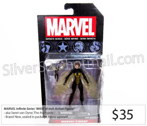 - MARVEL Infinite Series 'Wasp & Micro Wasp' Action Figures -