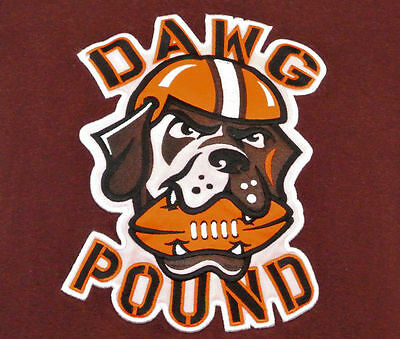NFL Cleveland Browns DAWG POUND Patch.Mint.FAST Shipping.  Get it FAST !