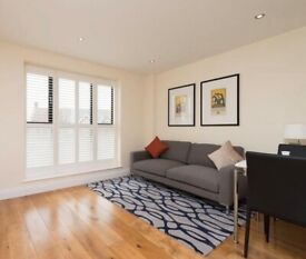 1 Bed Flat Available Now in a Modern Block in NW10 - Communal Roof Terrace - Furnished
