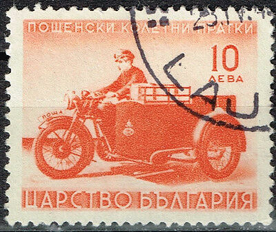 Bolgaria old Motorcycle stamp 1922
