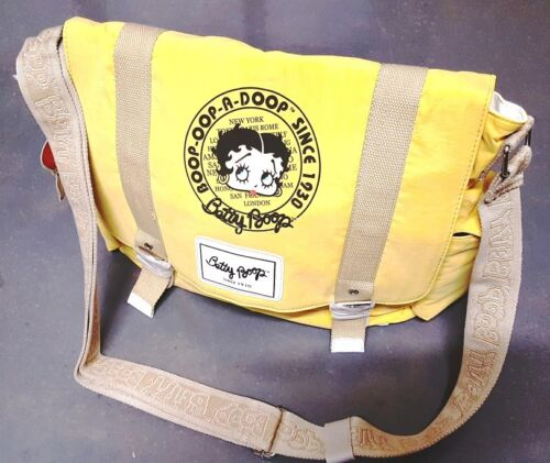 New BETTY BOOP Licensed Messenger Bag (Yellow color) US Seller