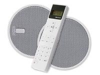 """KB Sound iSelect 5"""" FM Radio Ceiling Speaker System - Bathroom Kitchen"""
