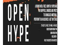 Announcing free workshop for upcoming poets ,rappers and singers