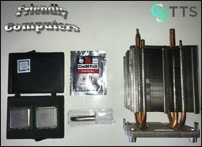 Matched Pair Quad Core X5482 3.2GHz XEON CPU DELL Precision T7400 kit +heatsink for sale  Shipping to India