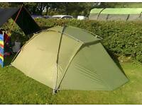 Vaude Space L, 3p tent,,, with vaude Footprint. ......