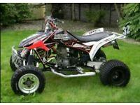 Proper Trx450r racing quad full race spec trx ltr yfz ktm mx bike honda yamaha