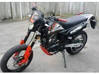 Sinnis Apache 125 2014 mint bike