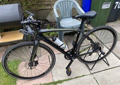 Specialized Sirrus Carbon Hybrid Bike Medium M Tiagra 2x10 Speed