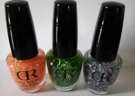 Girls/ladies glitter nail polish