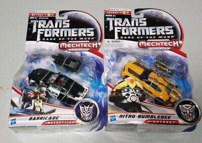 Transformers Dotm Barricade And Nitro Bumblebee
