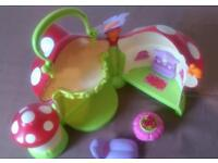ELC happyland toy toadstool house for fairies.