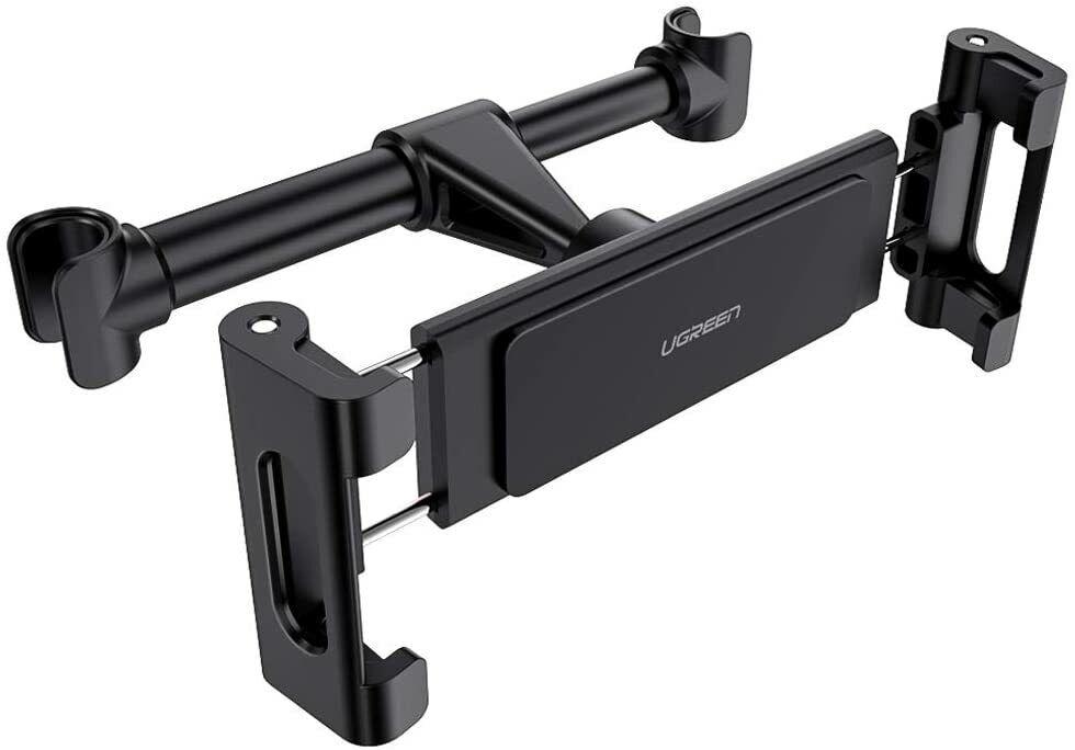 """Ugreen Supporto Poggiatesta Auto per Tablet iPad max 12,9"""" Rotazione a 360 Gradi"""
