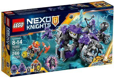 LEGO Nexo Knights The Three Brothers 70350 NIB Free Shipping