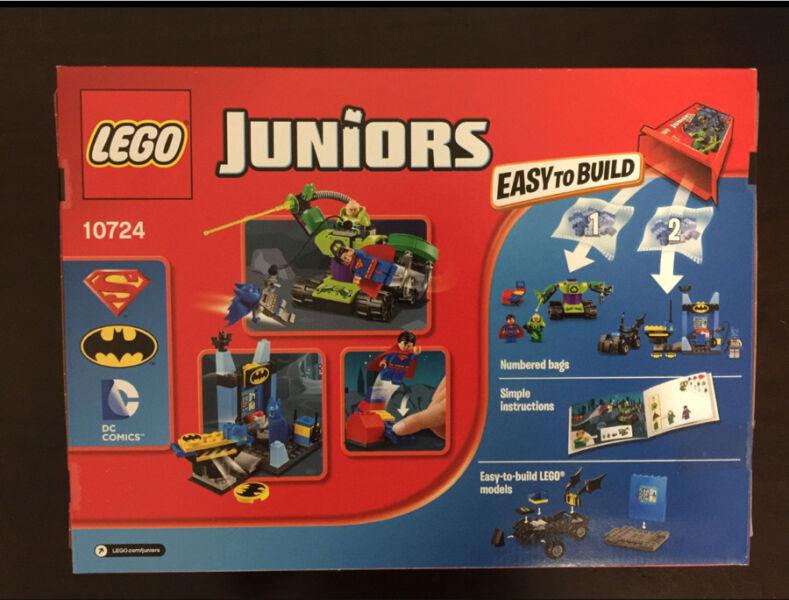 Retired Lego Super Heroes 10724 Batman Superman Vs Lex Luthor
