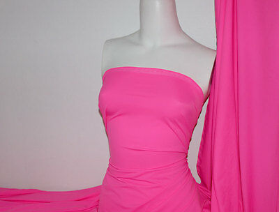 (Hotpink Lycra/Spandex 4 way stretch Finish Fabric)