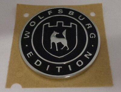 Original Volkswagen Emblem Wolfsburg Edition