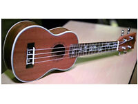 Better Sapele Soprano Ukulele, used for sale  Lancashire