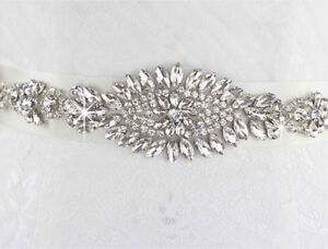Beautiful sparkling crystal sash to complete your wedding dress $80 Melbourne CBD Melbourne City Preview