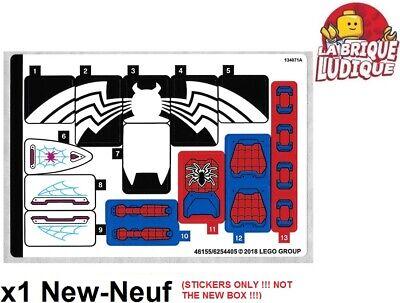 Lego - 1x Decal Sticker Super Heroes 76115 Spider Mech Venom Superman New