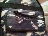Camouflage electric guitar size padded bag, 'Boston 2006'
