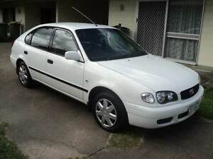 2001 Corolla. exc cond, Rwc Edmonton Cairns City Preview