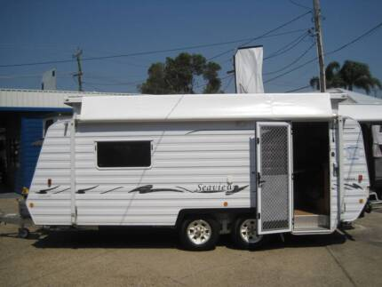 2005 Windsor Seaview Classic, Single Bed 18ft Poptop