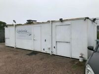 Anti Vandal steel Portable Cabin 32ft x 9ft