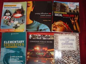 Criminal Justice textbooks, Humber College 2 nd year