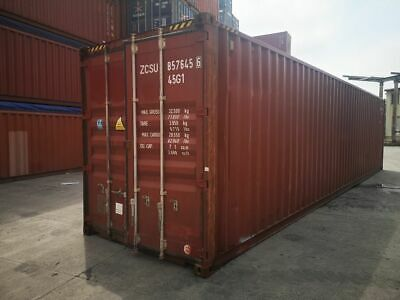 Used Shipping Storage Containers 40ft Cargo Worthy Atlanta Ga 3300