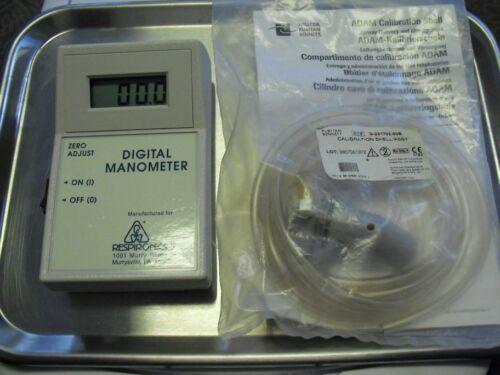 Respironics Digital Manometer with New Calibration Kit. Free Shipping