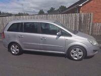 Vauxhall, ZAFIRA,7Seats MPV, 2008, Manual, 1598 (cc), 5 doors