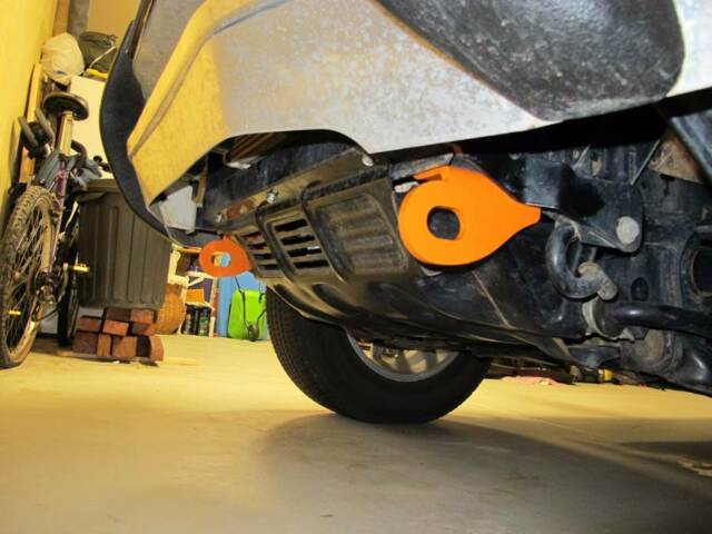 pajero tow bar fitting instructions