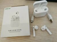 Orignal QCY T8 Sport Wireless Headphones - White