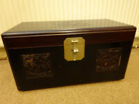 Treasure Chest Indian Style Wooden Trunk Storage Chest