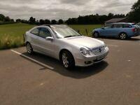 URGENT Mercedes-Benz, C CLASS, Coupe, 2004, Auto, 2148 (cc), 3 doors, Panoramic Roof